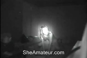 hidden cam caught my younger girlfriend and her