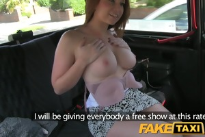 faketaxi youthful cutie with large bazookas