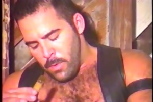 vintage fucking with three-some lustful dad bear