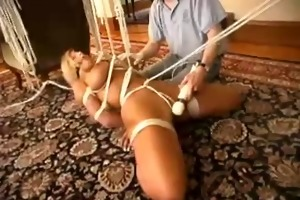 dad ties daughter ally - she is has do cum with