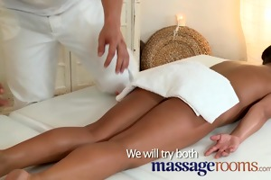 massage rooms miniature dark brown receives her
