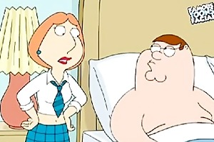 peter and lois griffin from family boy having sex