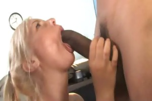 young daughter acquires pounded by big black