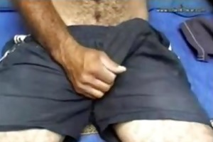 this gracious unshaved large jock dad is fuckin