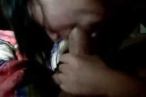 oral job with brother in room