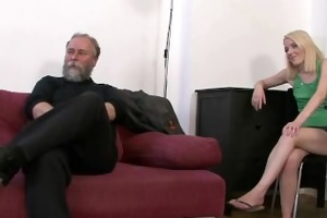 sexually excited daddy uses sons girlfriend