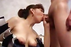 quiet shy housewife fucking younger boy