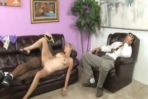 youthful daughter with admirable a-hole screwed
