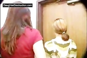 perverse lady screwed by two boys