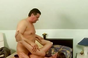 old chap has juvenile girlfriend