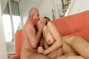good youthful hotty and old stud
