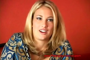 18 blonde & breasty summer @ petergirls