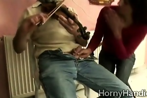 lascivious dark brown goes filthy engulfing a