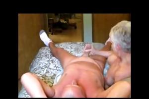 grandma masturbates granddad bvr