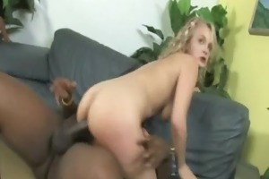 youthful daughter with precious gazoo drilled by