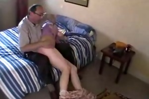 daddy and ally spanking.