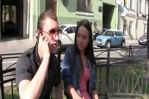 chap jerks staring at sex