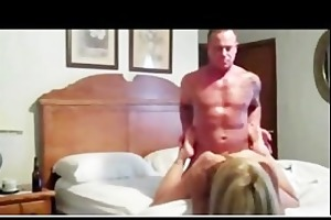 sexy muscle dad fucking blond