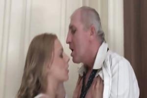 wicked golden-haired angel goes eager