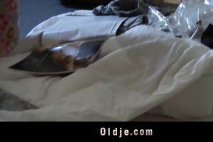 old hotel client copulates the slutty juvenile