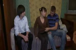 stranger copulates sexy teenie