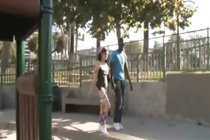 young daughter with fine butt drilled by a