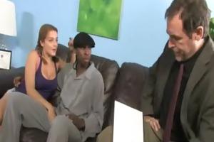 taut juvenile legal age teenager takes large dark