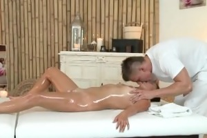 massage rooms diminutive brunette hair receives