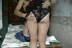 russian mother in law receives drilled
