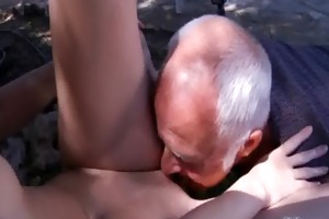 oldman have to pleasures concupiscent youthful