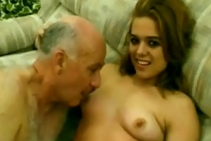 old stud dave fucks a 18 year old bitch
