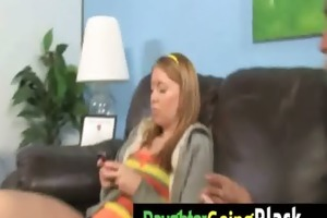 watch my daughter taking a hard darksome rod 3